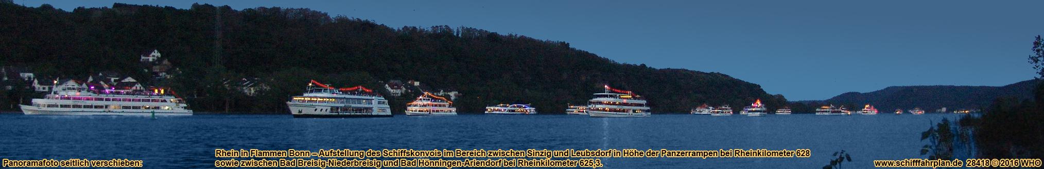 Weihnachtsfeier Schiff Köln.Rhein Feuerwerk Bonn 2020 2021 Schifffahrt Siebengebirge Mai Karten
